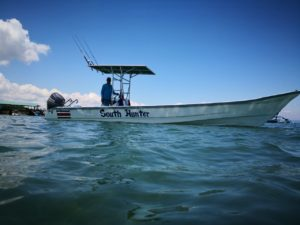 Sport Fishing South Hunter boat